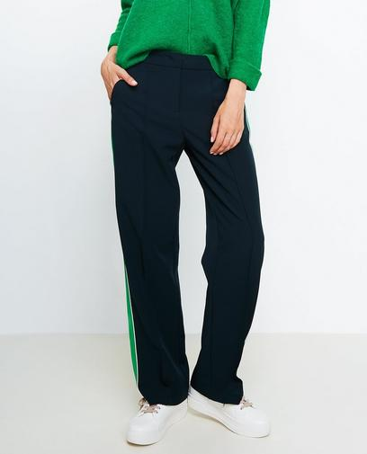 Pantalon souple vert